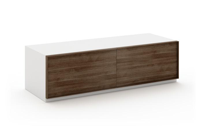 Mueble TV en madera y laca